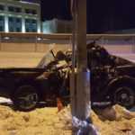 В Новом Уренгое произошло ДТП. водитель погиб